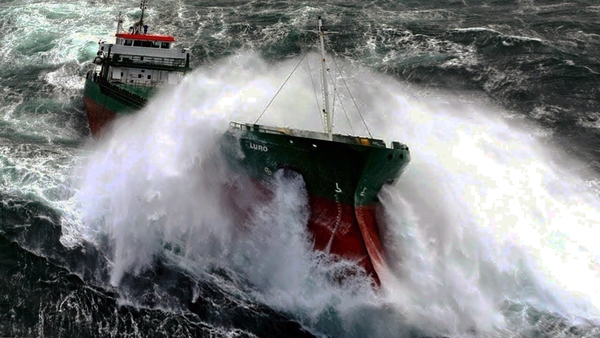 Плавание судна в штормовых условиях